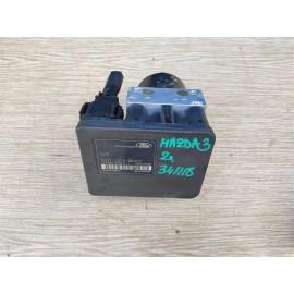 Блок управления АБС (ABS) гидравлический MAZDA 3 (BK) 2003-2009