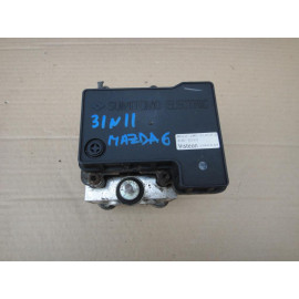 Блок управления АБС (ABS) гидравлический MAZDA 6 (GG) 2002-2007