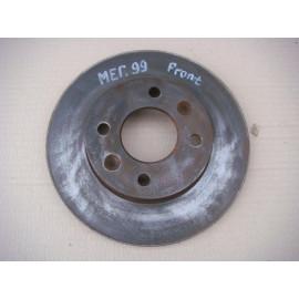 Диск тормозной передний RENAULT MEGAN 1996-1999